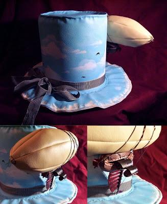 steampunk zeppelin top hat