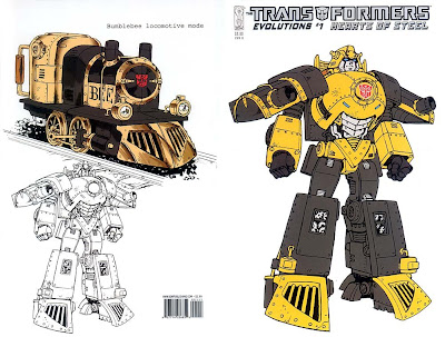 steampunk transformers - bumblebee