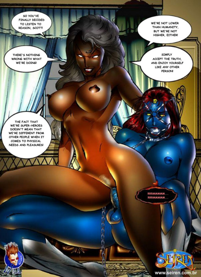 Sadly, based on some of the newer X-Men comics, I'd have to say this porno ...