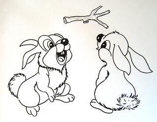 Hirn ger mpel hasen st ckchen - Hase zeichnen ...