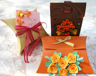 Decorative Boxes with quilling