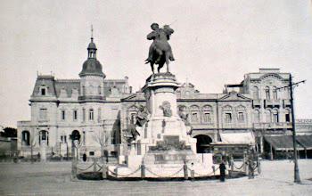 La foto antigua del barrio de Palermo