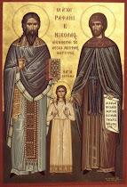 Saints Raphael, Nicholas & Irene