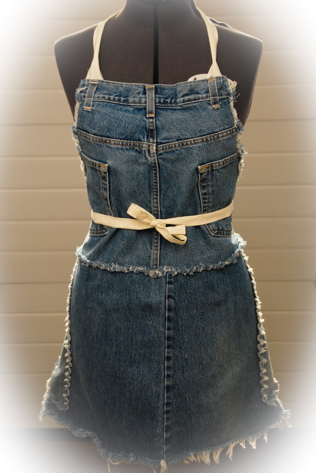 How To Make A Book Cover Out Of Old Jeans : Re incarnated new uses for old jeans