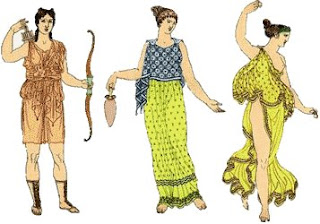 Ancient Greek Fashion Everyone Use Typically Sleeveless Tunics The Difference Between Men And Women Was That Were Ankle Length Man