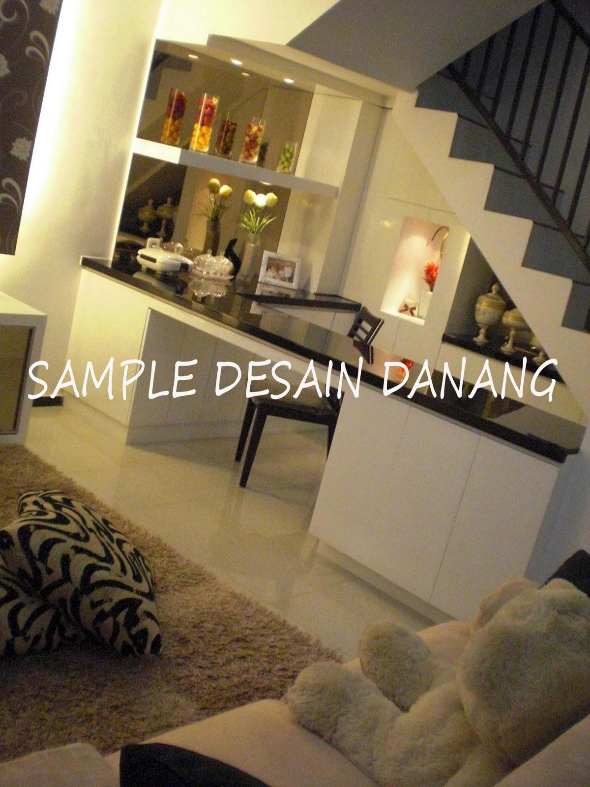 Sun Design Interior Design Dapur Bawah Tangga Dan Ruang Keluarga