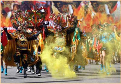 Fiestas en Bolivia