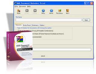 Rar Password Unlocker 3.0 (Descobrir senhas de arquivo .rar)