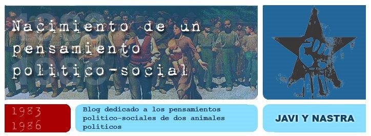 Nacimiento de un pensamiento político-social