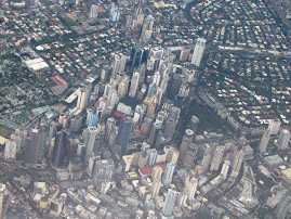Manila,as viewed from above
