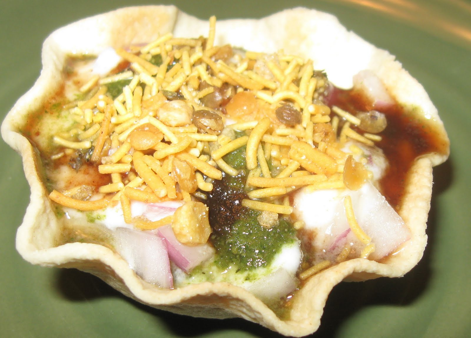 Katori chaat / Spicy tarts