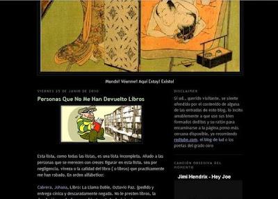 Esse Est Percipi blog