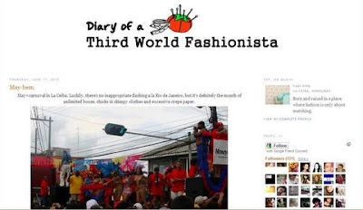 Diary of a Third World Fashionista blog