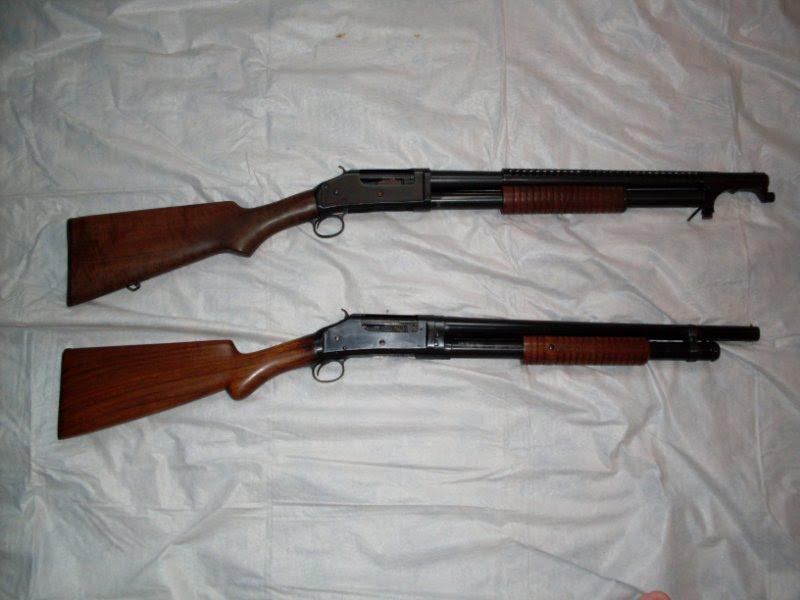 Young guns novembro 2010 pump action shotgun winchester model 1897 fandeluxe Choice Image