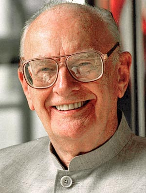 Sir Arthur C. Clarke. photo Fiona Hanson/Associated Press.