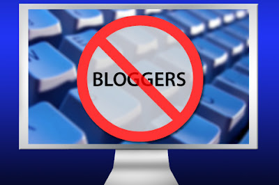 No Bloggers. art Darren Hester/Salon. CC License.