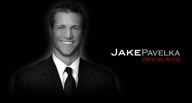 Jake Pavelka Official Blog