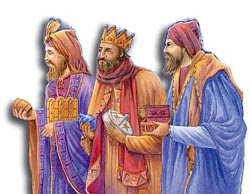 The Three Wise Men Attending At The Birth Not An Original Idea Of