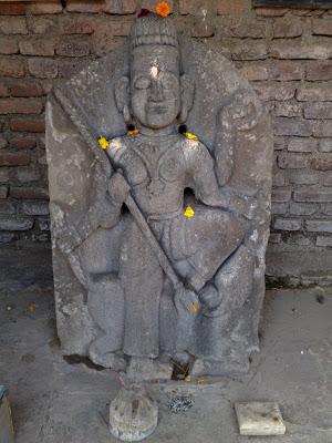 "Two Goddesses: ""Padmavati"" and ""Goolavati"" in Alibag Fort."