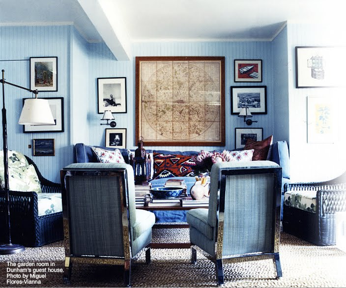Great Profile On LA Interior Designer And Textile Peter Dunham Here Its Always Interesting To See How Peoples Childhoods Influence Their Design