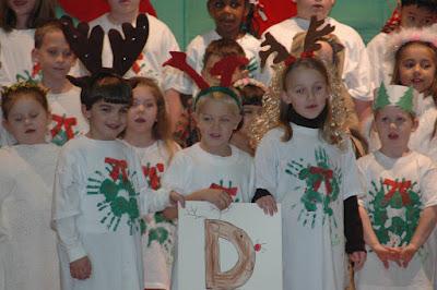 "Kindergarten Presents the ""ABCs of Christmas"" 1"