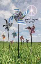 Montgomery Catholic Students Imagine Whirled Peace with Pinwheels for Peace Art Project 1