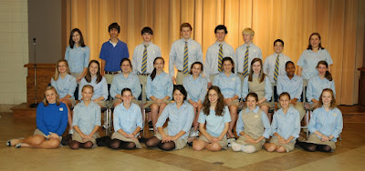 Montgomery Catholic Inducts New NJHS Members 1