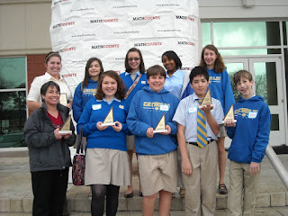 Montgomery Catholic Students Succeed at MATHCOUNTS Competition 1