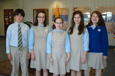 Montgomery Catholic Honors Five State Qualifiers for Duke Talent Search 1