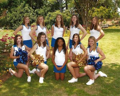Junior Varsity Cheerleaders Earn Bid to NCA National Competition 1