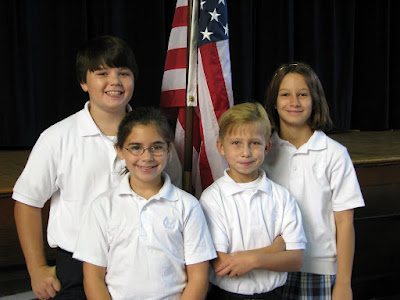 Fourth Grade Elects Mayors; Sworn in by Bright 1