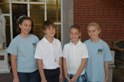 St. Bede Elects Student Council 1