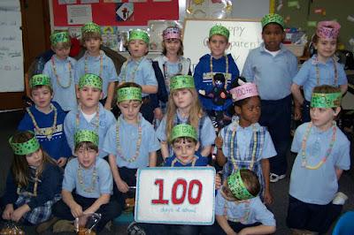 Montgomery Catholic Students Celebrate 100th Day of School 1