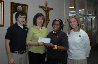 Montgomery Catholic Students Raise Funds for Car Seats for COPE 1
