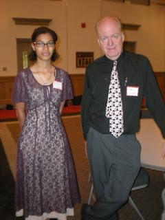 Senior attends Mathematical Association Annual Dinner 1
