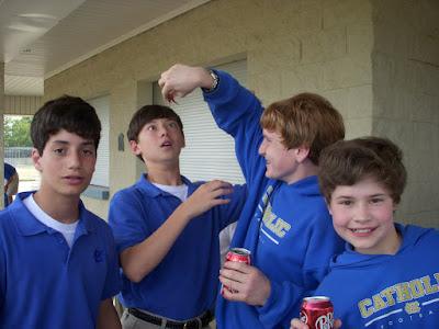 Middle School Students Discover Invertebrates 1