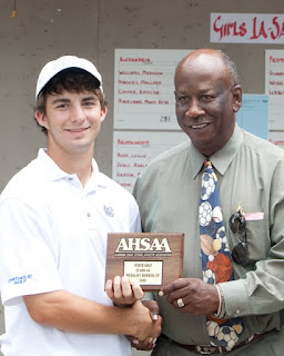 Thomas Sutton Named All-Metro Golfer of the Year 1
