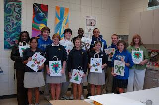 Montgomery Catholic students partner with MACOA and BBVA Compass 1