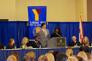 Montgomery Catholic's Godwin Elected Alabama's Chief Justice at Youth Judicial 1