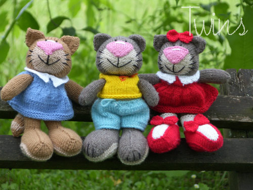 Knit Toys For Cats