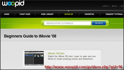 Woopid Screencast Tutorials