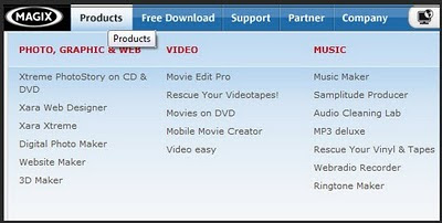 Magix Product Screen 3-6-2010