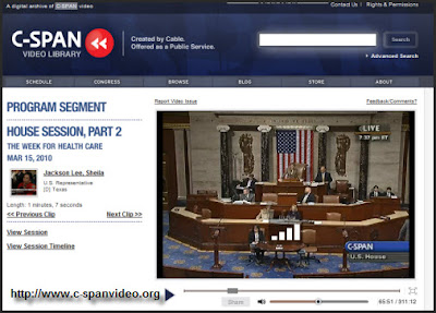 Video Archives of C-Span