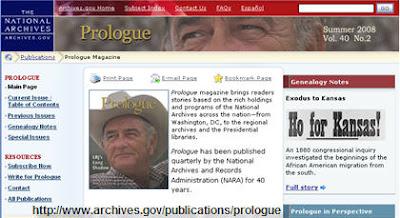 NARA's Prologue Magazine