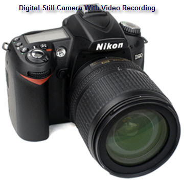 Nikon D90 with Video Recording