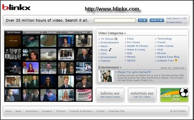 Blinkx Video Search Engine