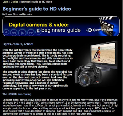 Learning Guide to DSLR Video