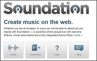 Soundation Online Music Mixer