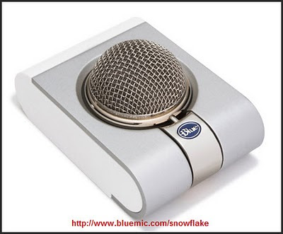 Blue's Snowflake Microphone