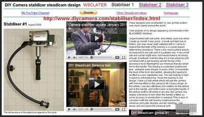 Builder of Camcorder Stabilization